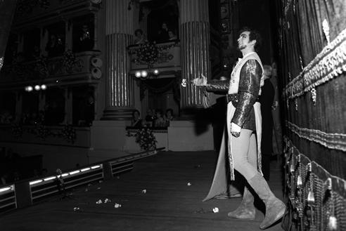 Franco Corelli ne La battaglia di Legnano – Scala, 7 dicembre 1961 (Archivio Teatro alla Scala)