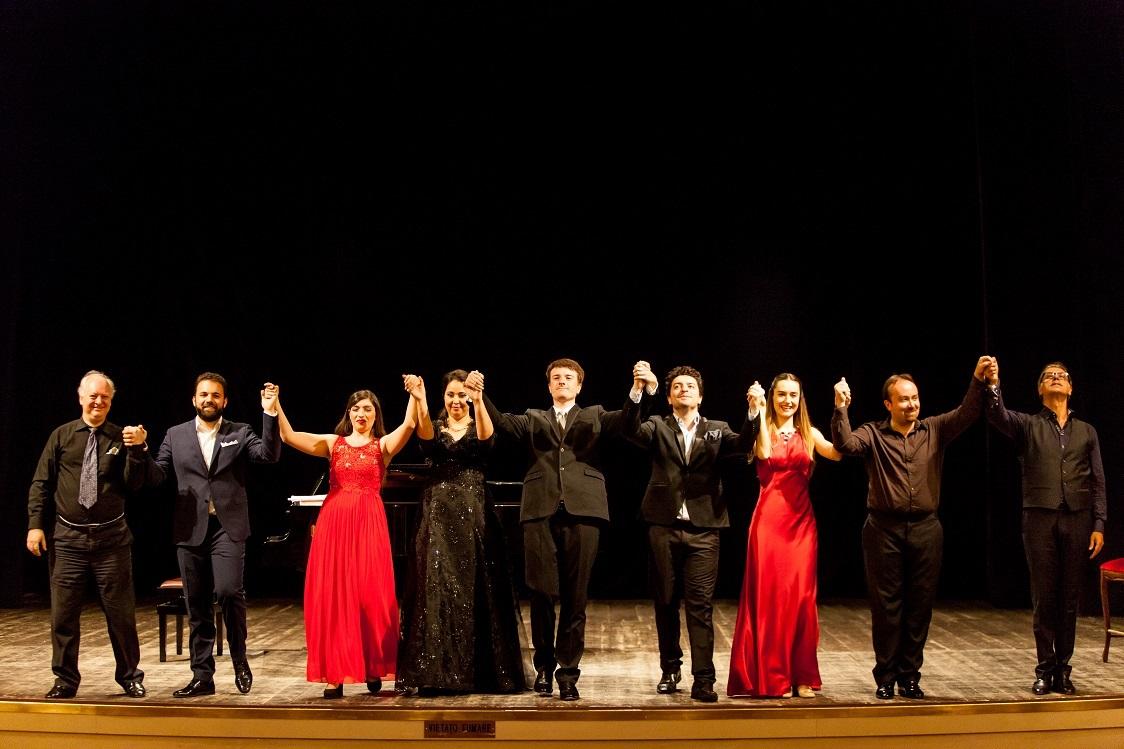 applausi finali concerto domenica 9 luglio, Teatro Signorelli Cortona_ph. Lorenzo Breschi