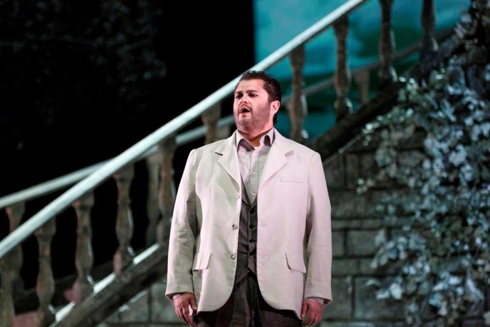 Celso Albelo nel ruolo di Werther a Tenerife