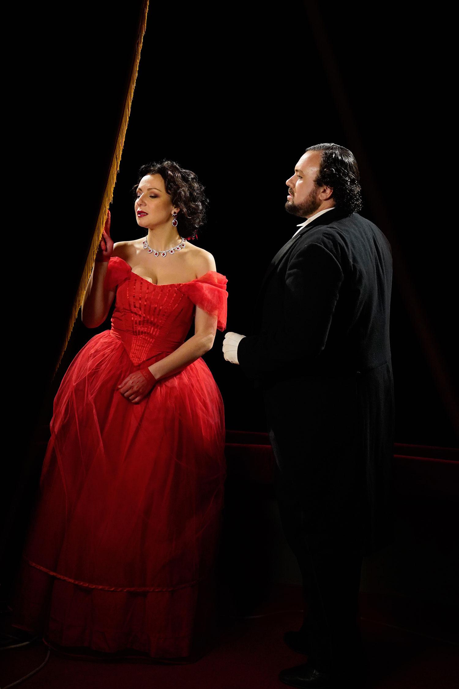Stefan Pop con Irina Lungu - foto di Giacomo Orlando