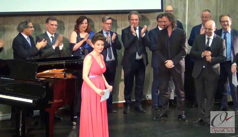 La prima classificata Paola Leoci