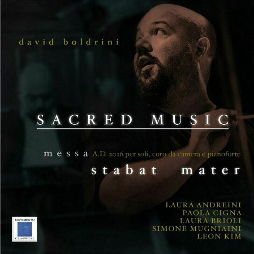 cover del cd dello Stabat Mater di David Boldrini