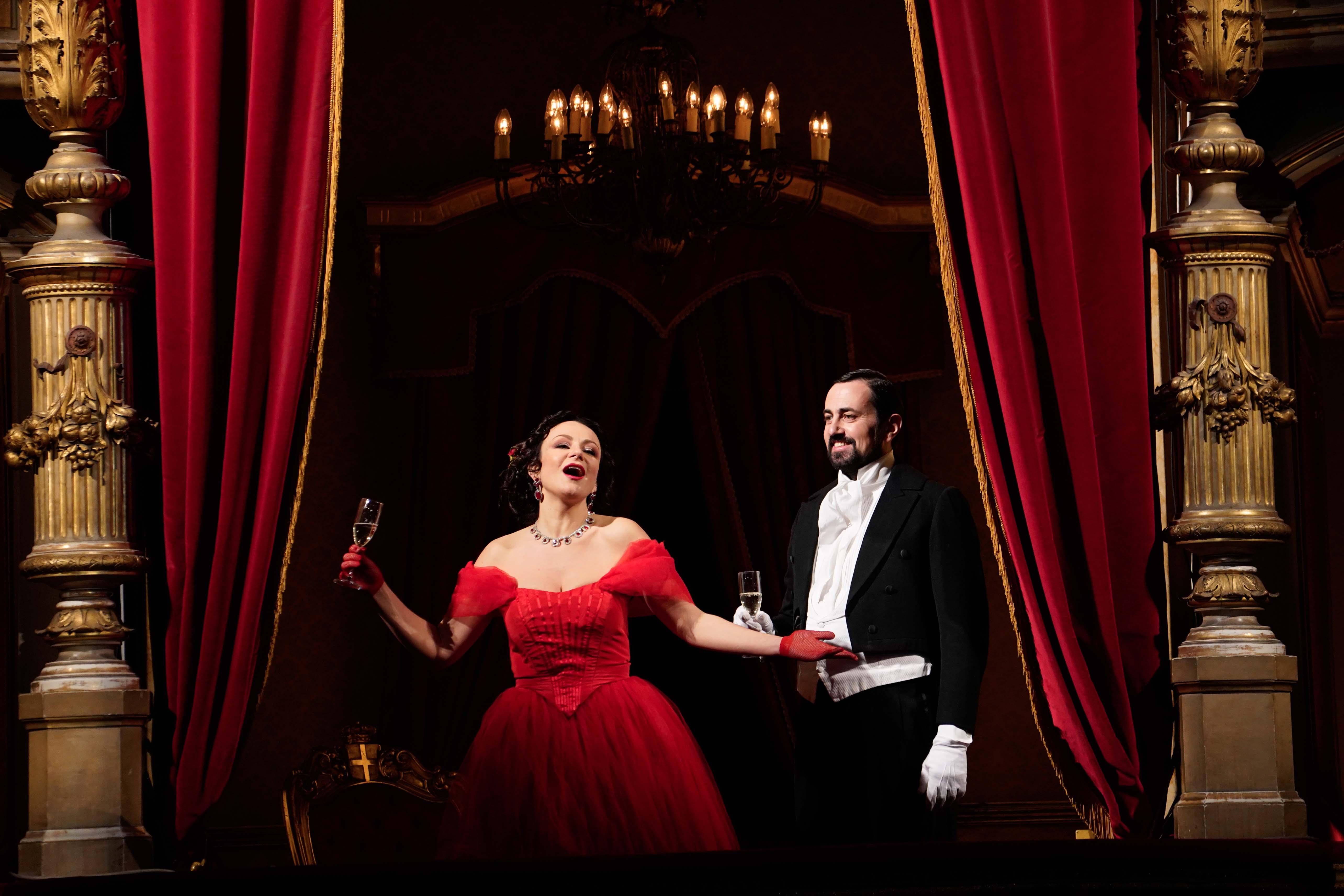 Irina Lungu, Gabriele Sagona - La Traviata, Atto I - ® Giacomo Orlando
